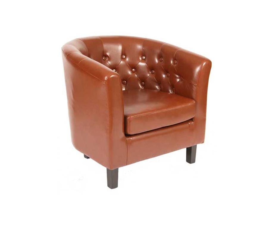 Superieur Derwent Contract Leather Tub Chairs