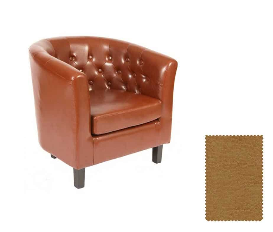 Derwent Contract Leather Tub Chairs Chose From Six Colours