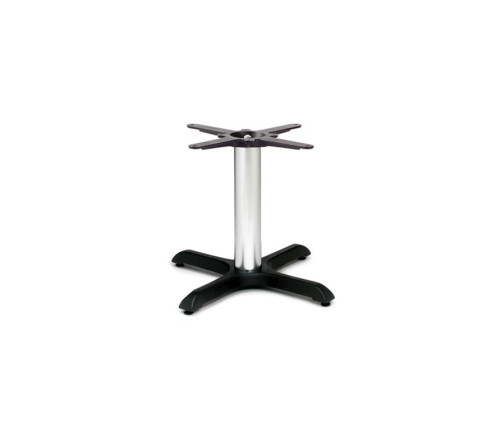 Durham small coffee table for cafes and bars designed with chrome tube Home bar furniture ct