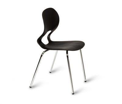 Easy Cafe Chair Black