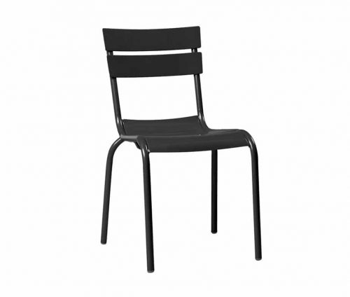 Elvin Outdoor Cafe Chairs Black