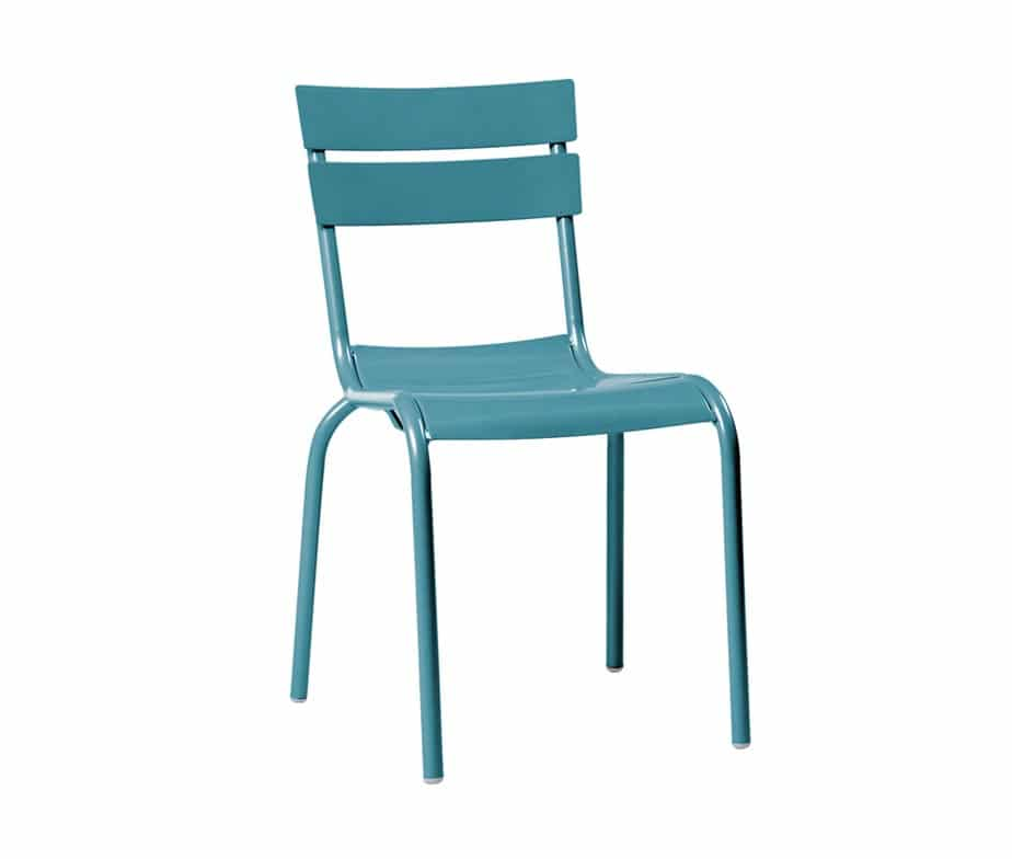 outdoor cafe chairs. Elvin Outdoor Cafe Chairs Turquoise C
