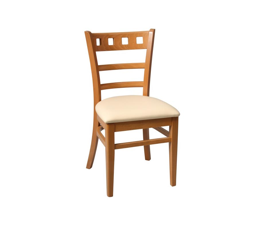 Enzo oak dining chairs for cafes and restaurants uk stock