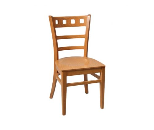 Enzo Dining Chairs Oak Veneer Seat