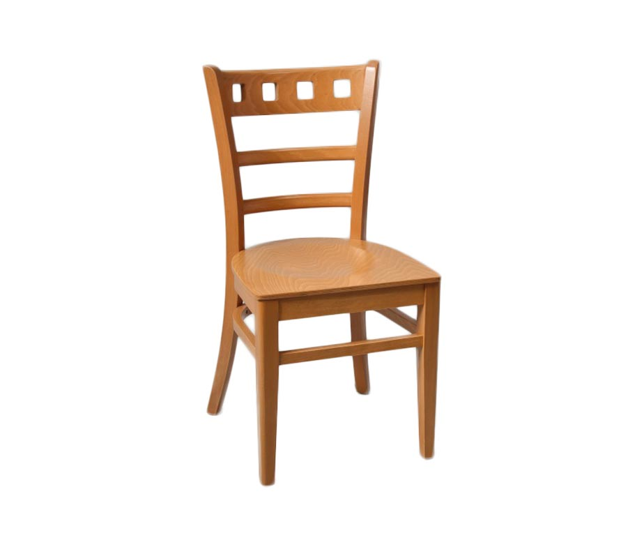 Enzo oak dining chairs for cafes and restaurants uk stock for Oak dining chairs