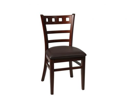 Enzo Restaurant Chair Walnut Brown