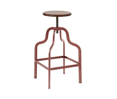 Factory High Stool Copper Finish