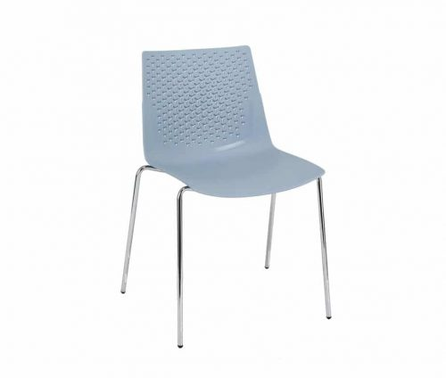 Flex Cafe Chair Blue