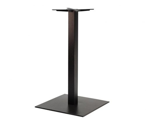 Forza Extra Large Square Black Tall Poseur Tables