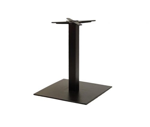 Forza Large Square Black Coffee Tables