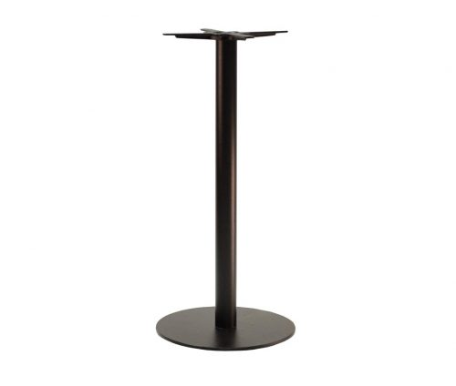 Forza Medium Round Black Tall Poseur Tables