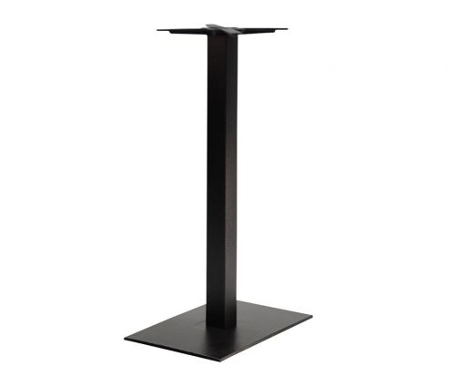Forza Rectangular Black Tall Poseur Tables