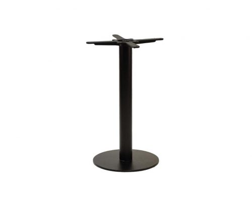 Forza Small Round Black Dining Tables