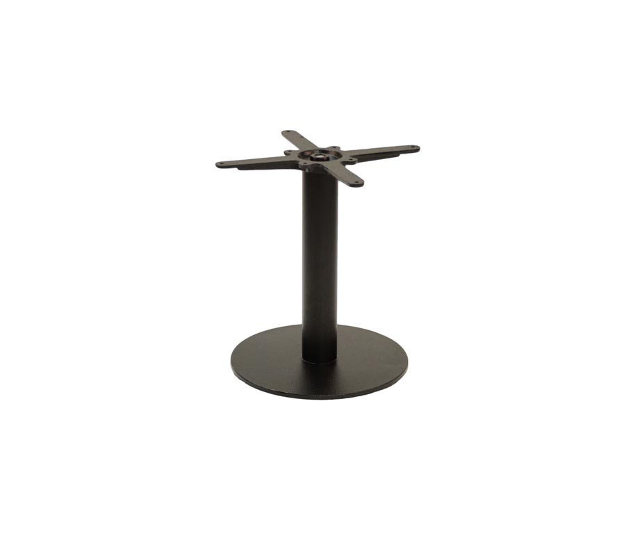 Forza Small Round Black Coffee Tables
