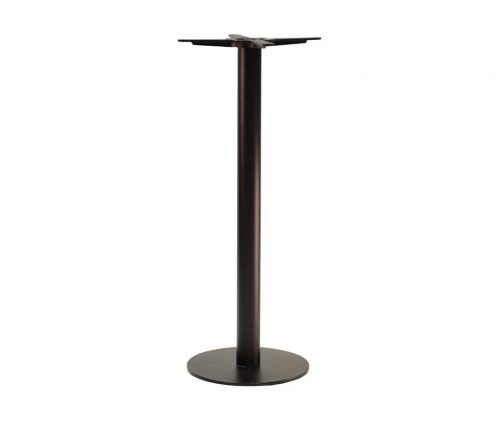 Forza Small Round Black Tall Poseur Tables