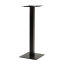 Forza Small Square Black Tall Poseur Tables