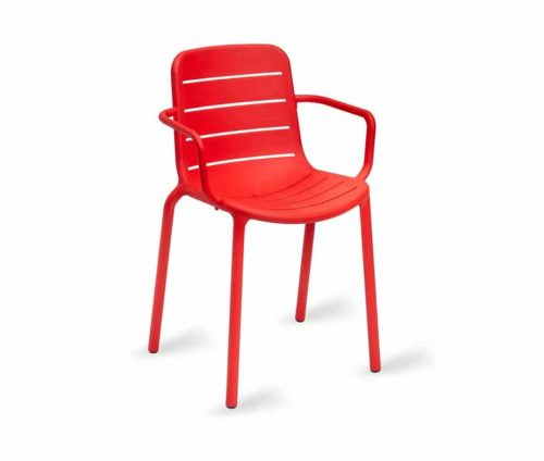 Frankie Outdoor Armchair Red