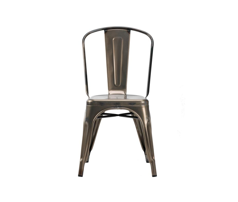 french bistro chairs industrial metal cafe chairs