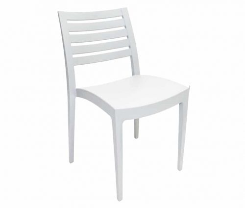 Fresco Outdoor Side Chair White