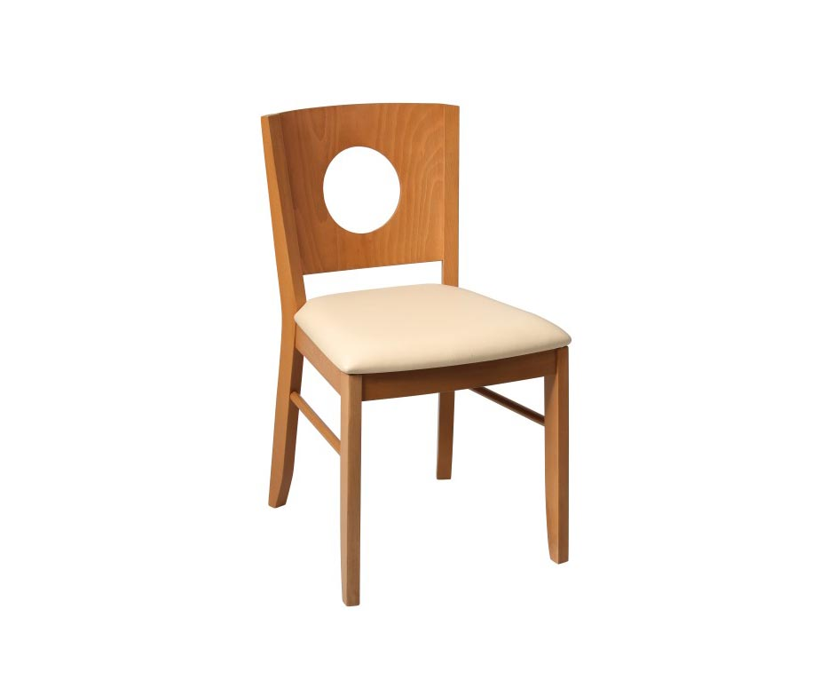 Gabriella Oak Dining Chair Available With A Brown Or Cream