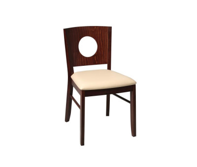 Gabriella Dining Chairs Walnut Cream