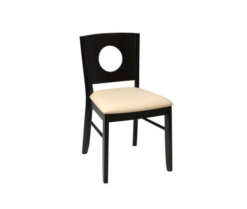 Gabriella Dining Chairs Wenge Cream