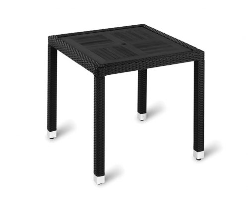 Genoa Square Outdoor Table Black