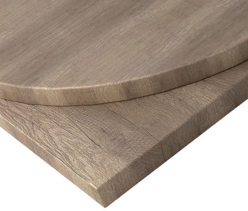 Grey Nebraska Oak MFC Table Tops