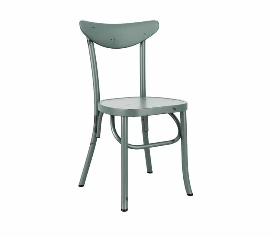 Harlem Outdoor Stacking Chairs Blue