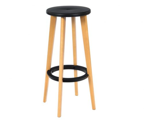 Heston High Stools Black