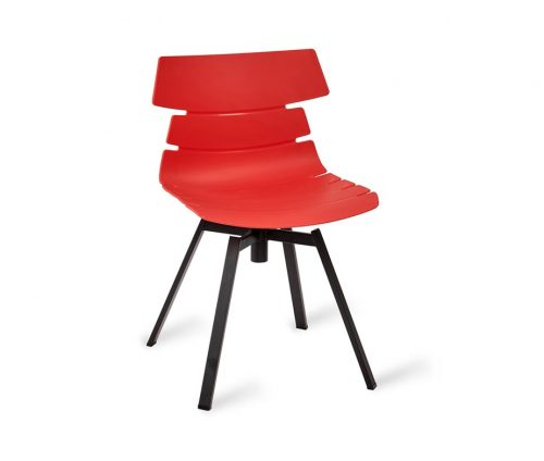 Hoxton Chair Frame L Red
