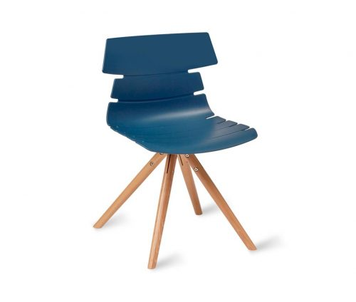Hoxton Chair Frame P Blue