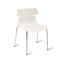 White Hoxton Side Chair