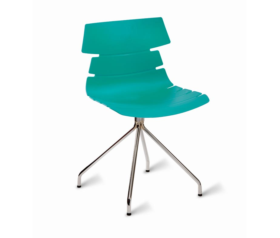 ... Turquoise Hoxton Side Chair Spider Legs ...
