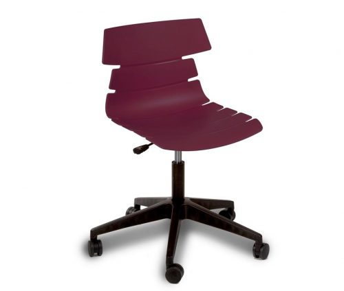 Hoxton Swivel Chair Purple