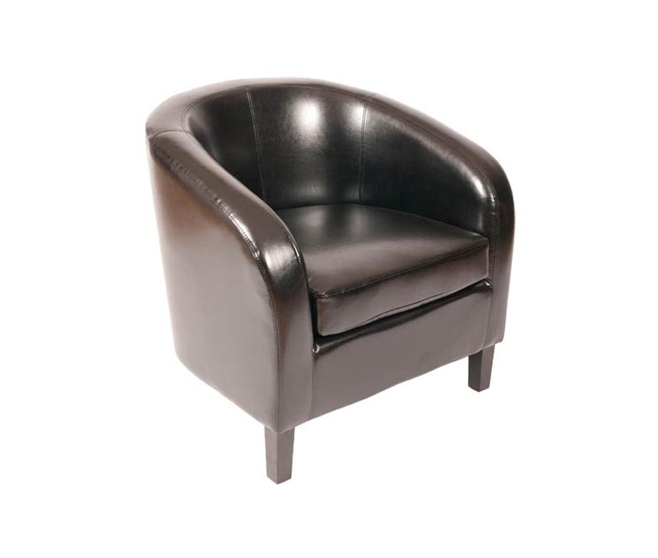 Jazz Leather Tub Chairs for Bars and Cafes Classic Design