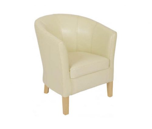 Jenny Leather Tub Chairs