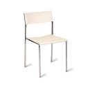 Julie Metal Cafe Chairs White