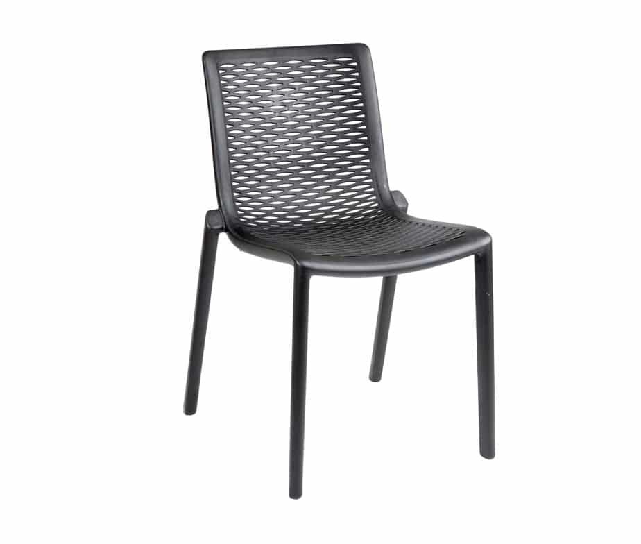 ... Katie Outdoor Cafe Chairs Black ...