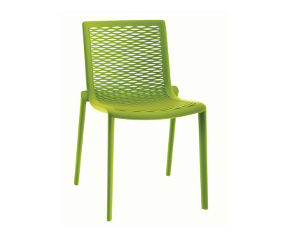Katie Outdoor Cafe Chairs Green
