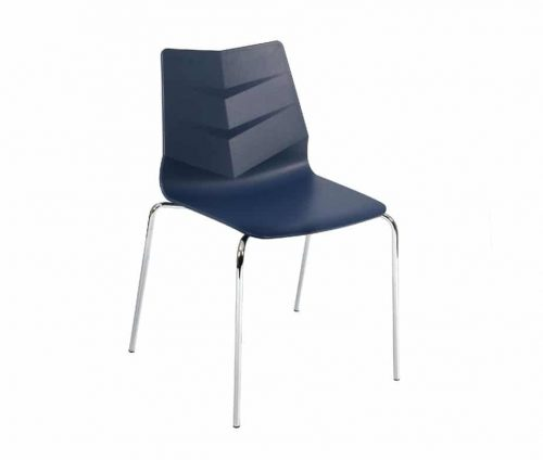 Leaf Side Chair Blue
