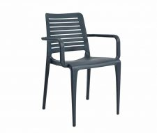 Lisbon Outdoor Armchairs Grey