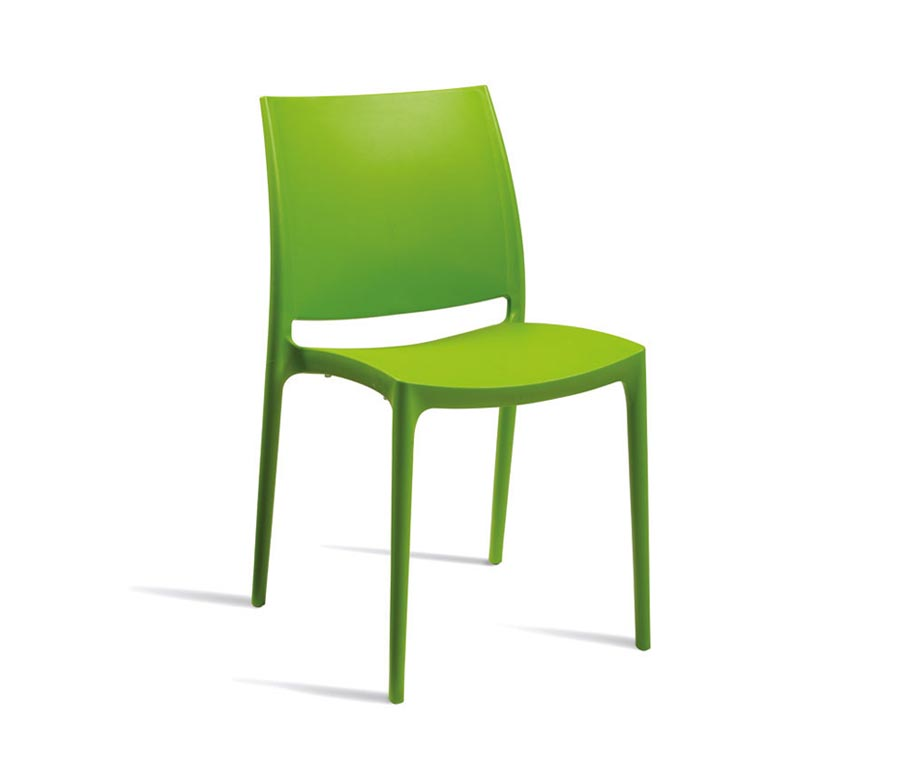 ... Lode Outdoor Cafe Chairs Green ...  sc 1 st  Warner Contract Furniture & Lode Outdoor Cafe Chairs | Heavy Duty u0026 Stylish Polypropylene Seating