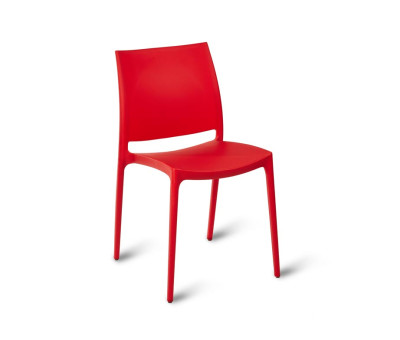Louise Cafe Chairs Red