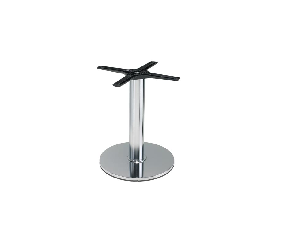 Lucido Round Chrome Coffee Table Base By Warner Contracts Ltd