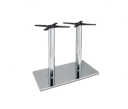 Lucido Twin Ped Dining Table Base