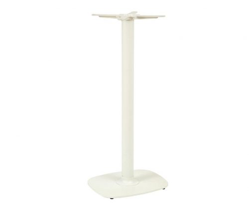 Ludo Cream Metal Poseur Table