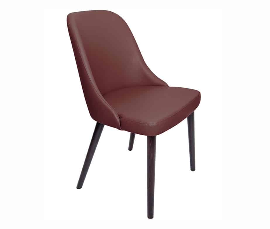 Madison Commercial Restaurant Chairs Burgundy