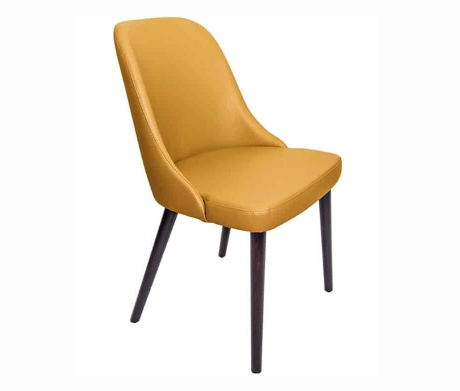 Madison Commercial Restaurant Chairs Mustard