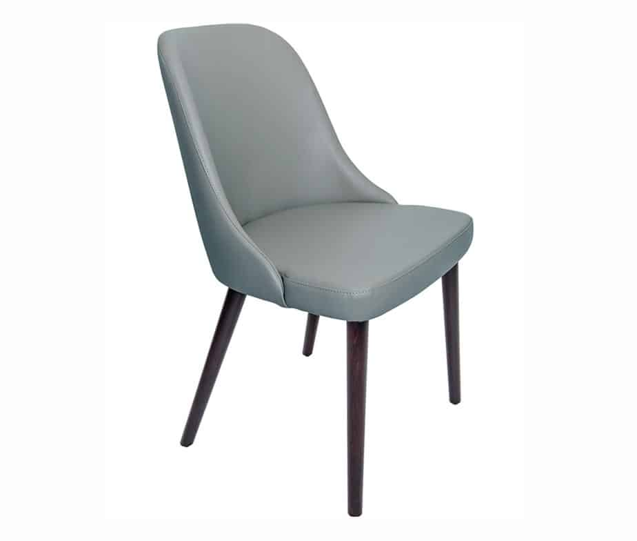 Madison Commercial Restaurant Chairs Pewter